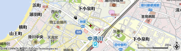 八坂社周辺の地図