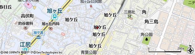 富山県高岡市東藤平蔵旭ケ丘周辺の地図
