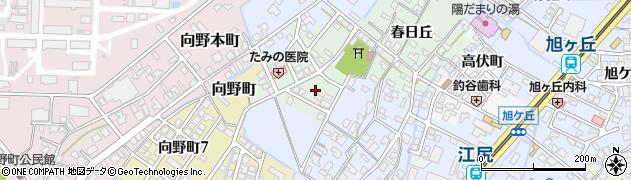 富山県高岡市江尻白山町周辺の地図