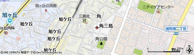 富山県高岡市角三島49周辺の地図