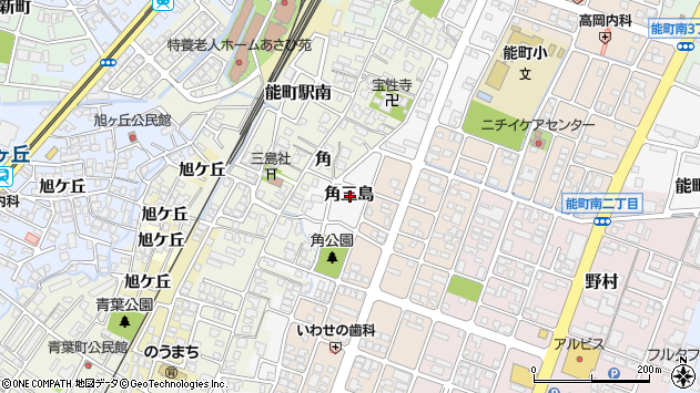 〒933-0006 富山県高岡市角三島の地図