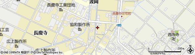富山県高岡市長慶寺周辺の地図