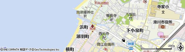 富山県滑川市橋場町周辺の地図