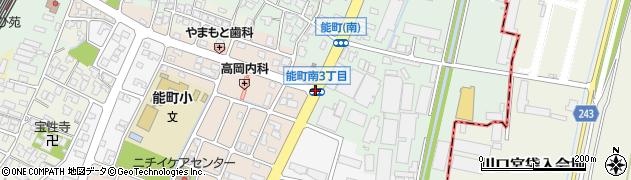 能町南3周辺の地図