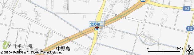 北野第二周辺の地図
