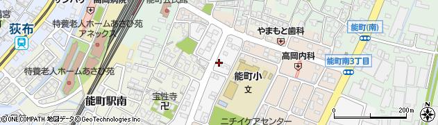 富山県高岡市角三島周辺の地図