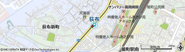 富山県高岡市周辺の地図