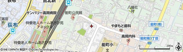 富山県高岡市角三島89周辺の地図