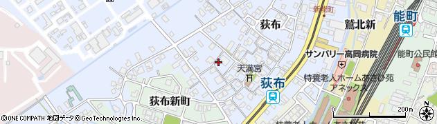 富山県高岡市荻布周辺の地図