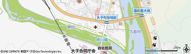 茨城県大子町(久慈郡)周辺の地図