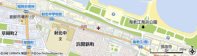 富山県射水市海老江浜開周辺の地図