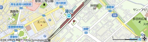 滑川駅南口周辺の地図
