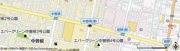 中曽根東周辺の地図