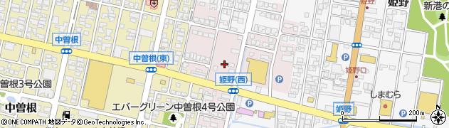 富山県高岡市放生津周辺の地図