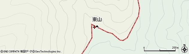 東山周辺の地図