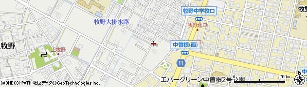 富山県高岡市若葉町周辺の地図