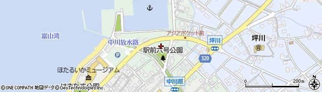 富山県滑川市坪川新周辺の地図