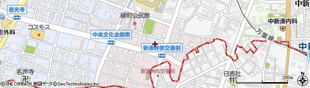 富山県射水市緑町周辺の地図