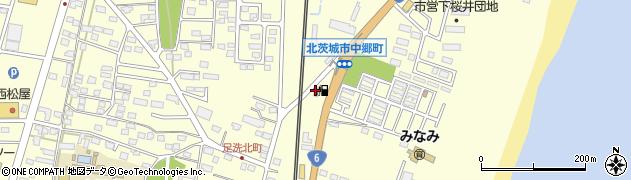 常磐港運株式会社 北茨城給油所周辺の地図