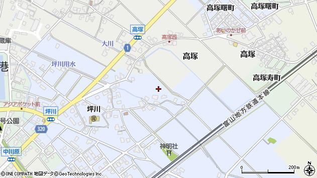 〒936-0018 富山県滑川市坪川の地図