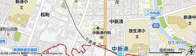 超願寺周辺の地図