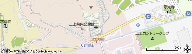 富山県高岡市山園町周辺の地図