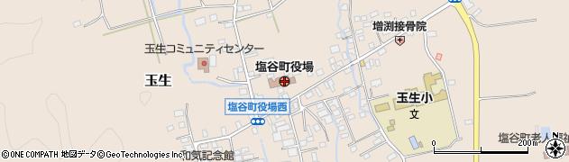 栃木県塩谷町(塩谷郡)周辺の地図