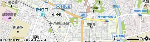 長朔寺周辺の地図