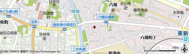 不動尊西福寺周辺の地図