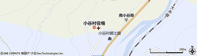長野県北安曇郡小谷村周辺の地図