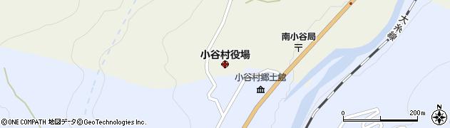 長野県小谷村(北安曇郡)周辺の地図