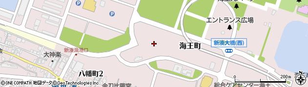 富山県射水市海王町周辺の地図