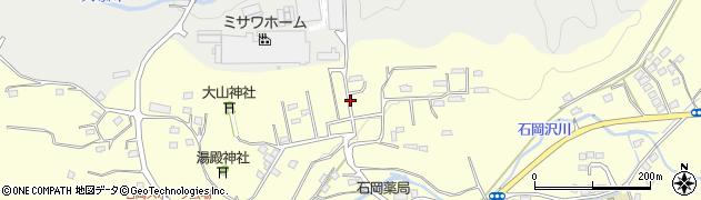 茨城県北茨城市中郷町(石岡)周辺の地図