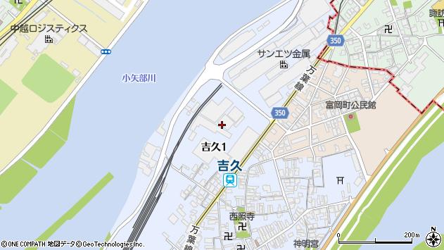 〒933-0002 富山県高岡市吉久の地図