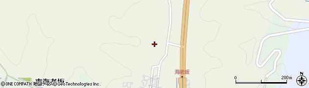富山県高岡市東海老坂周辺の地図