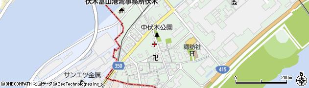 富山県射水市庄西町2丁目周辺の地図