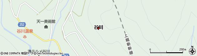 群馬県みなかみ町(利根郡)谷川周辺の地図