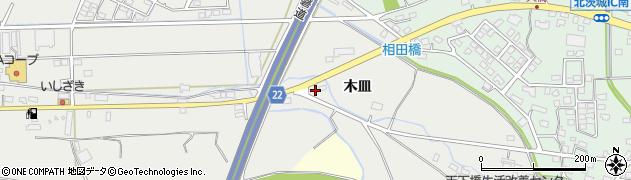 茨城県北茨城市磯原町周辺の地図