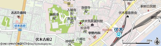 竜善寺周辺の地図