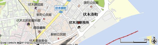 富山県高岡市伏木湊町周辺の地図