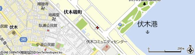 富山県高岡市伏木磯町周辺の地図