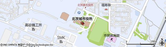茨城県北茨城市周辺の地図