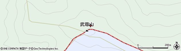 武尊山周辺の地図