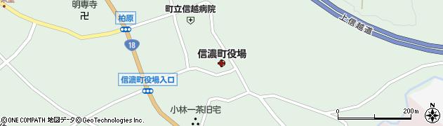 長野県信濃町(上水内郡)周辺の地図