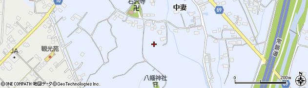 茨城県北茨城市華川町(中妻)周辺の地図