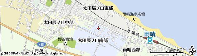富山県高岡市太田辰ノ口南部周辺の地図