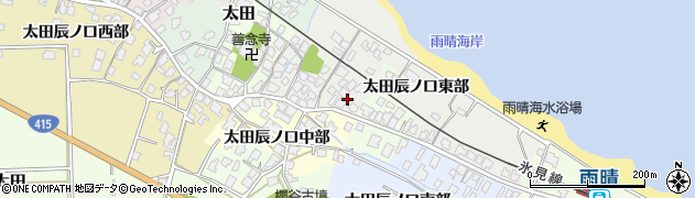 富山県高岡市太田辰ノ口東部周辺の地図