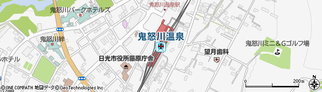 栃木県日光市周辺の地図