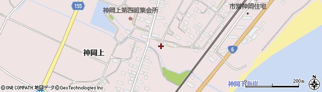茨城県北茨城市関南町(神岡上)周辺の地図