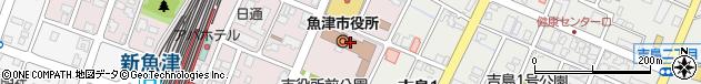 富山県魚津市周辺の地図